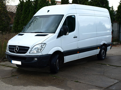 Short and long term car rental poznan for Mercedes benz sprinter rental price